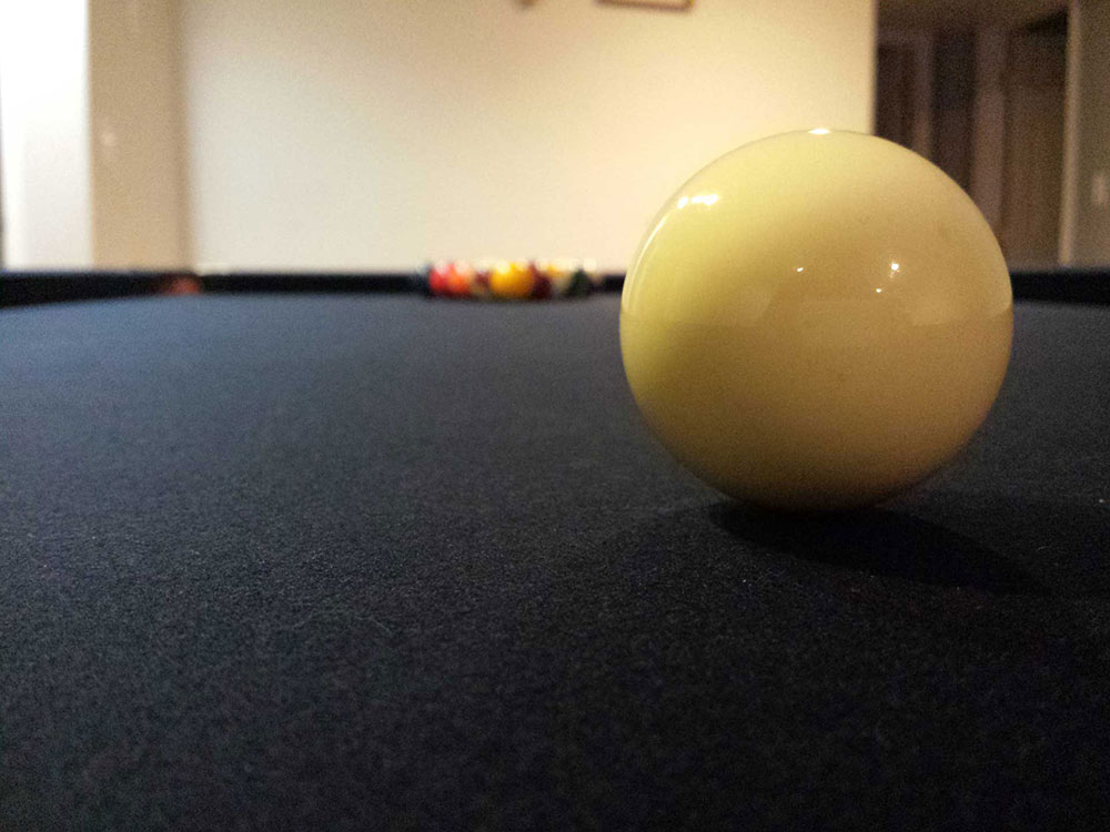 Pool table recovering in California, San Francisco